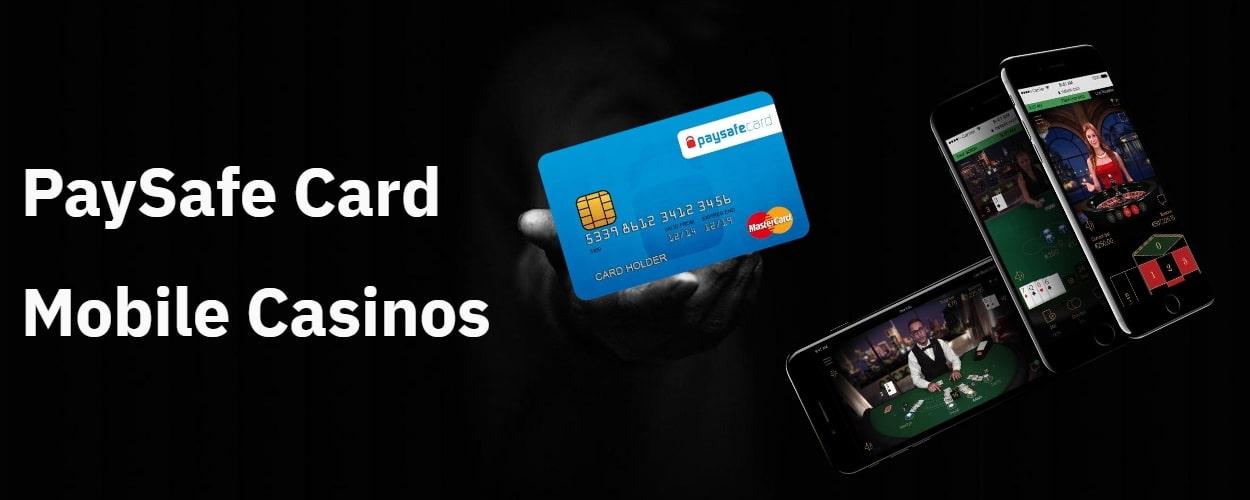 TOP PaySafeCard mobile casinos